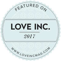 Featured on Love Inc. Magazine 2017